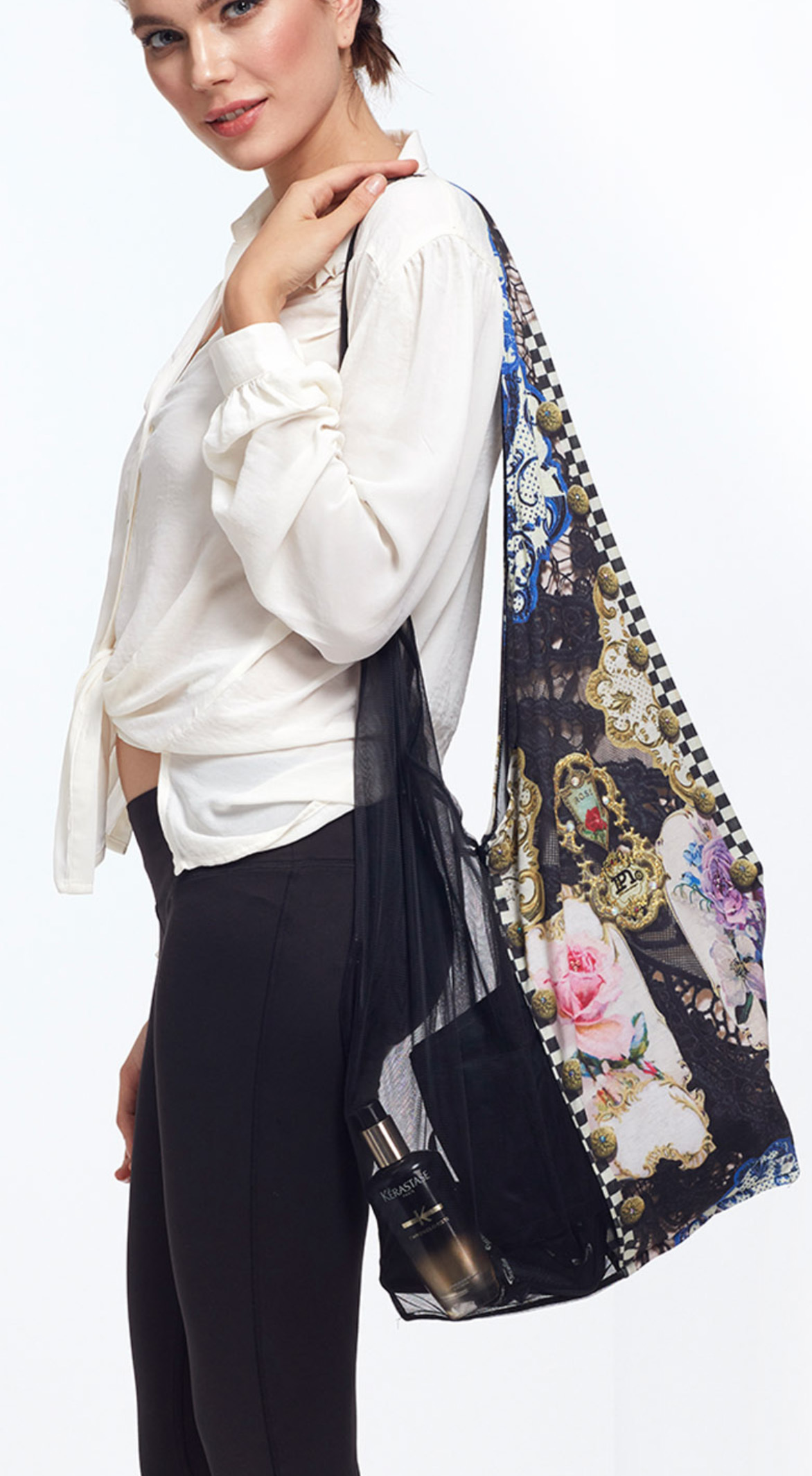 IPNG: Incredibly Sexy Rosette Large Tote Bag (Ships Immed, 1 Left!)