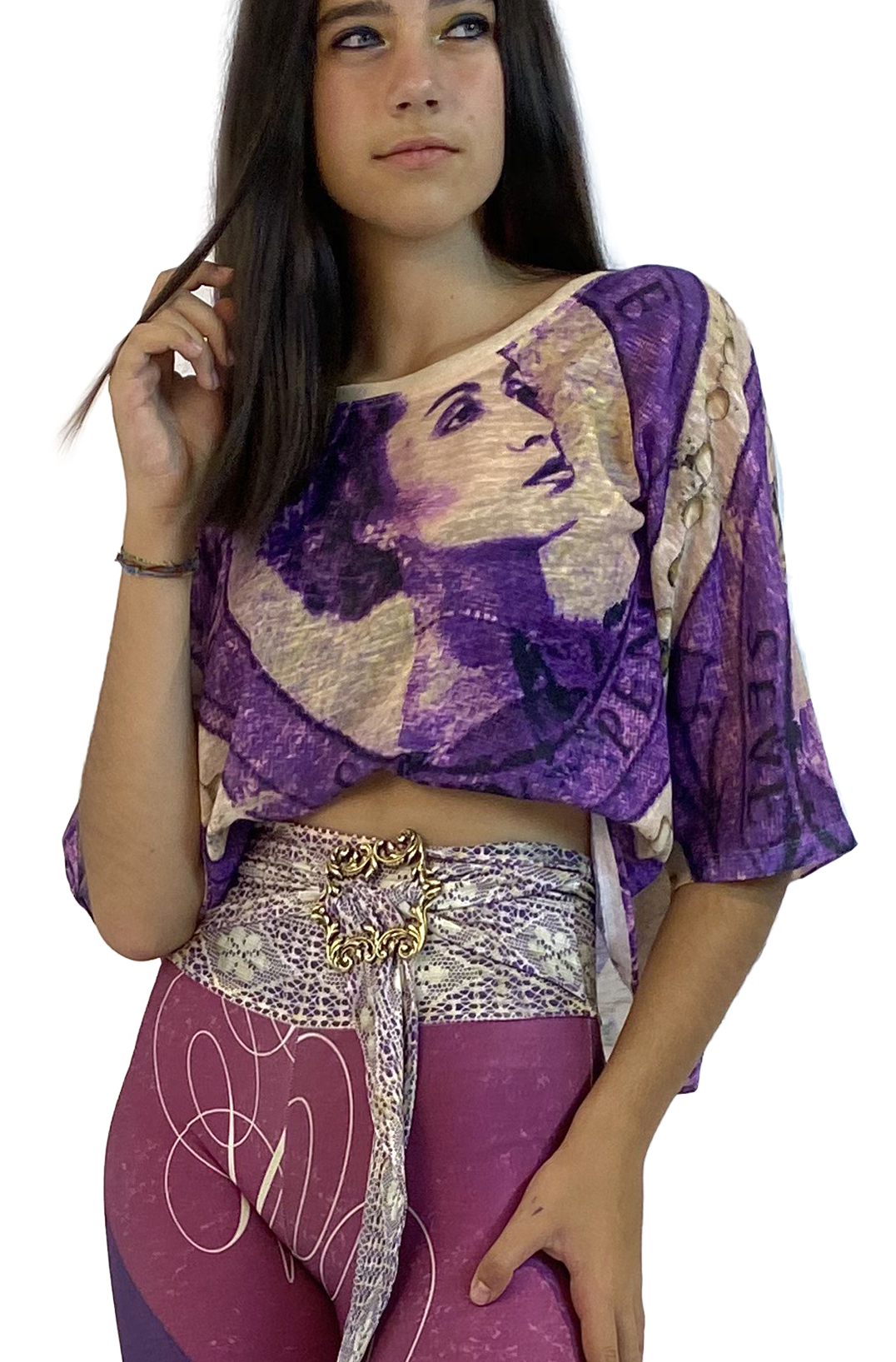 IPNG: If I Was Dancing In Paris Illusion Blouse T-Mini (Some Ship Immed!) IPNG_IIFBTM-014
