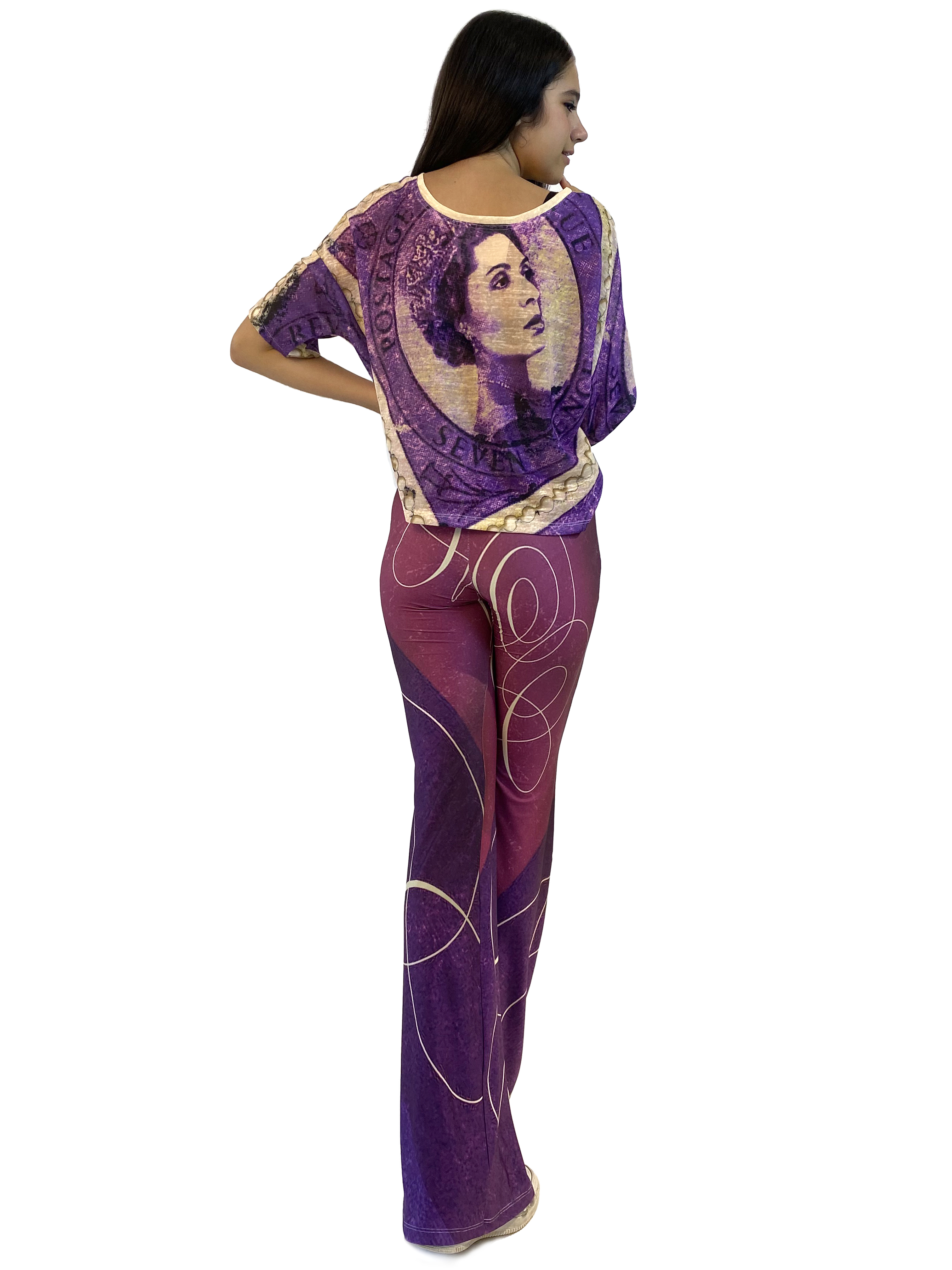 IPNG: If I Was Dancing In Paris Illusion Blouse T-Mini (Some Ship Immed!)