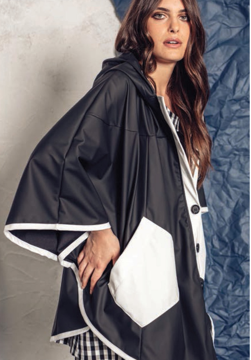G!oze: A Forever Umbrella In Paris Raincoat SOLD OUT