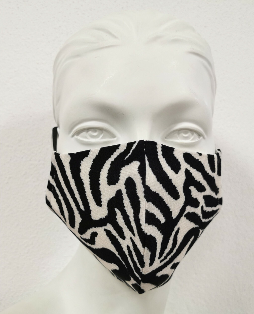 Maloka: Wild Zebra Abstract art Protective Mask (With Filter!) MK_ZEBRA_MASK