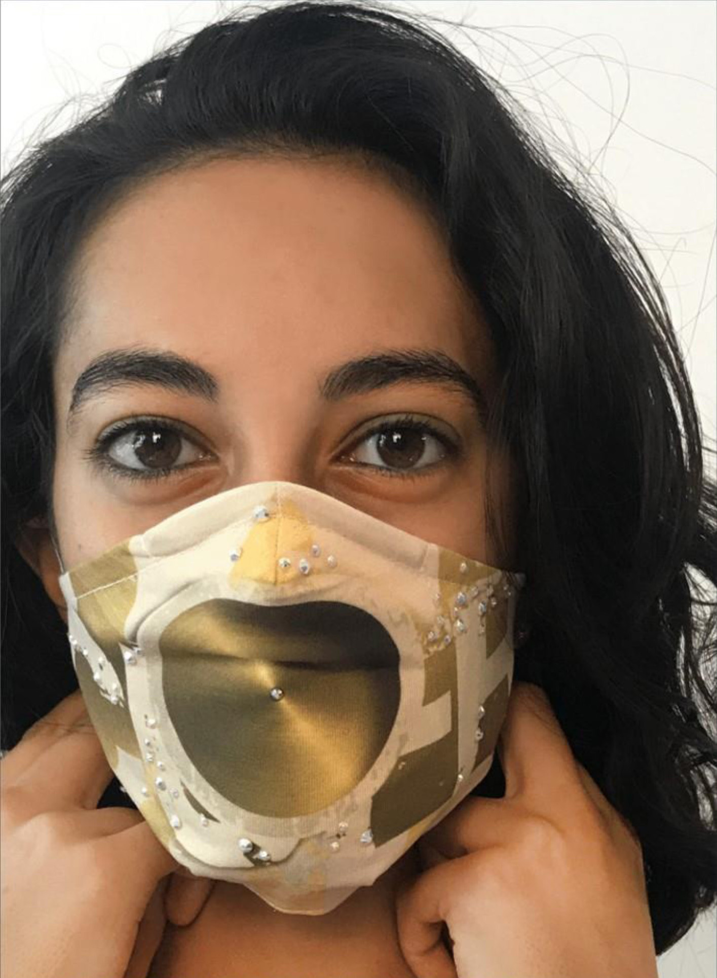 IPNG: Summer Speach Art Protective Mask (Ships Immed!) IPNG_M45