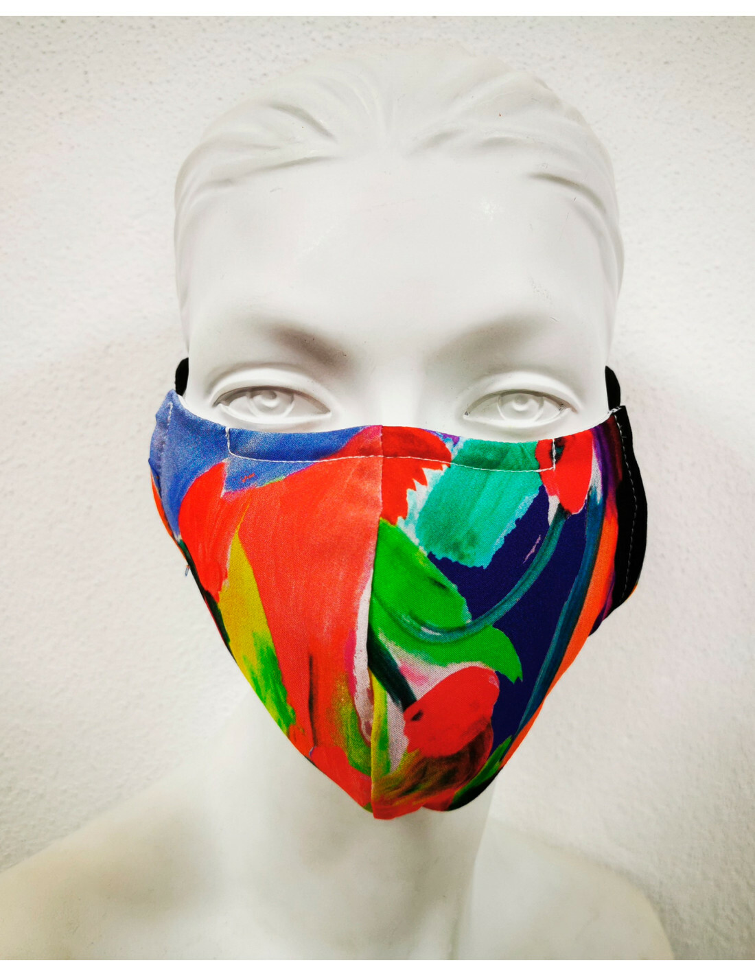 Maloka Art Mask (With Filter): Free Gift (Art Varies, as per pictures)