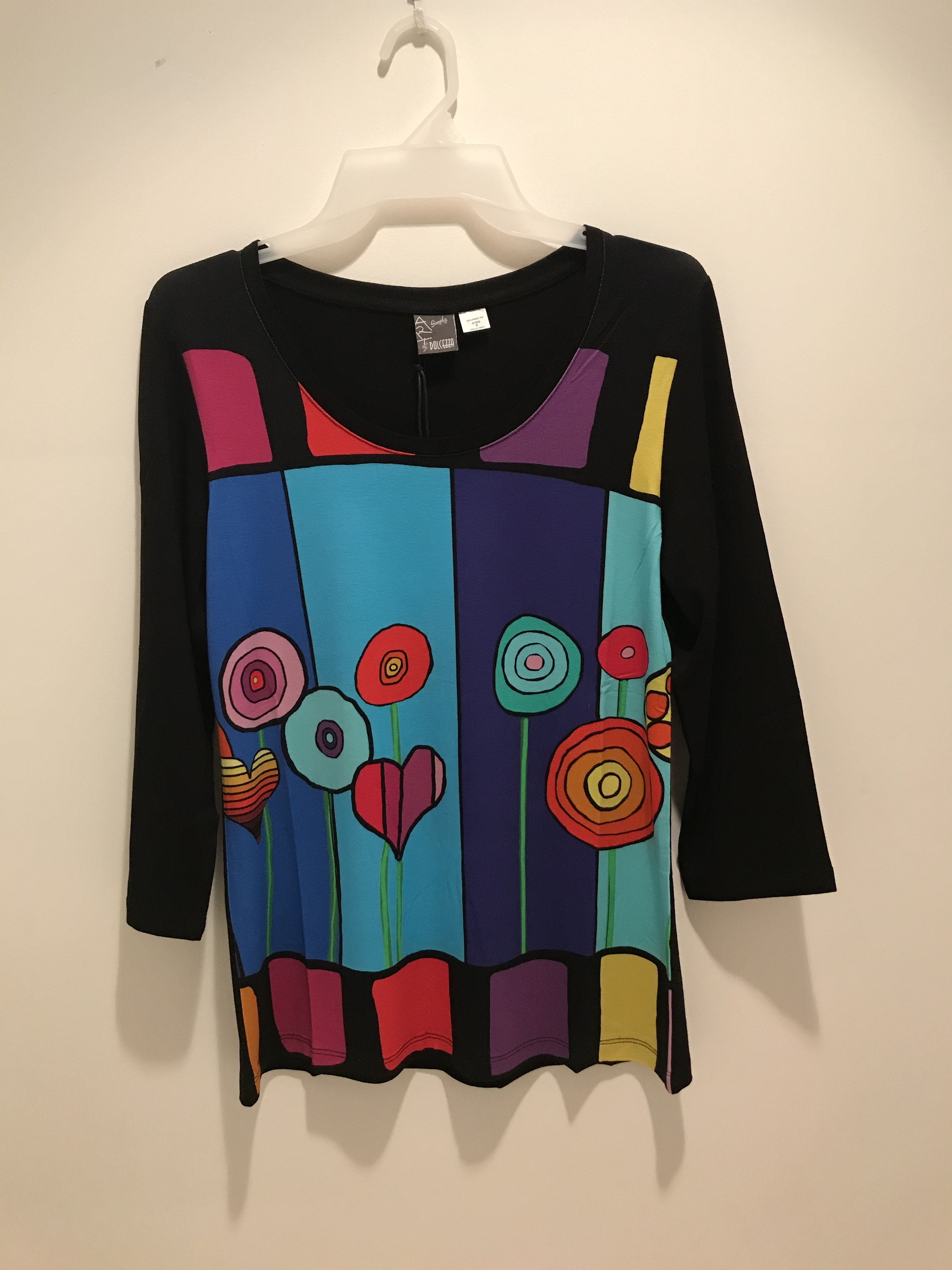 Simply Art Dolcezza: Lollipops Of Happiness Abstract Art Tunic