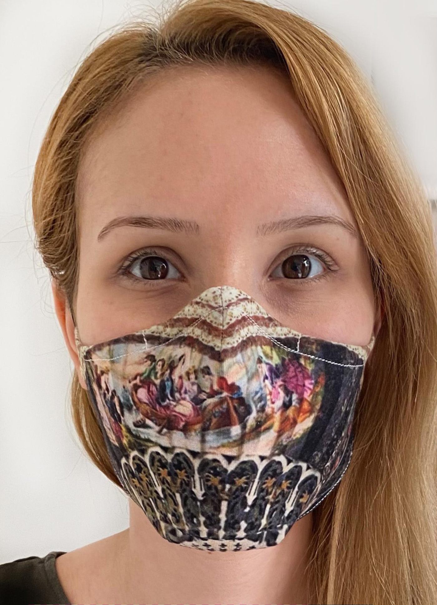 IPNG: Baroque Romance Art Protective Mask (Ships Immed!) IPNG_M18_mask