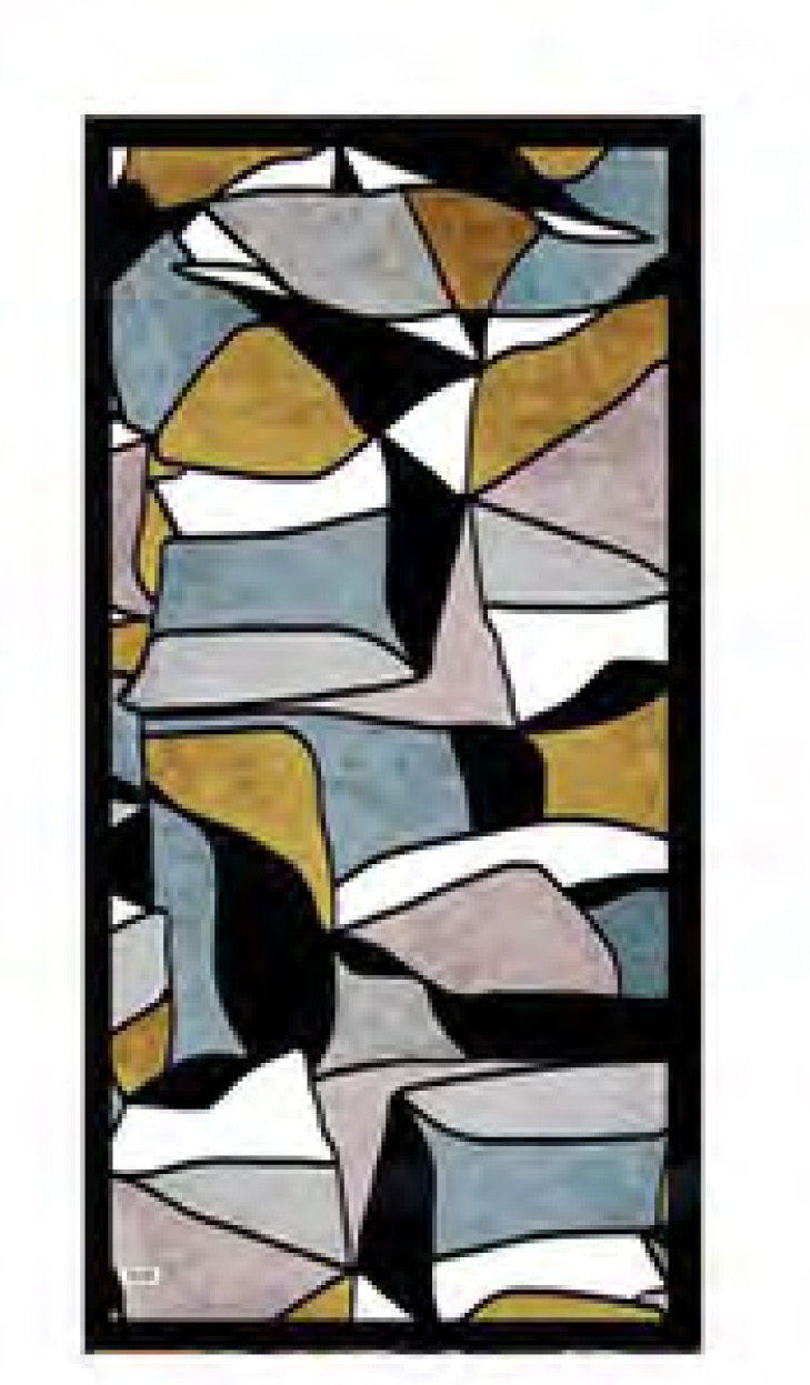 Simply Art Dolcezza: Lost In Time Abstract Art Scarf (1 Left!)
