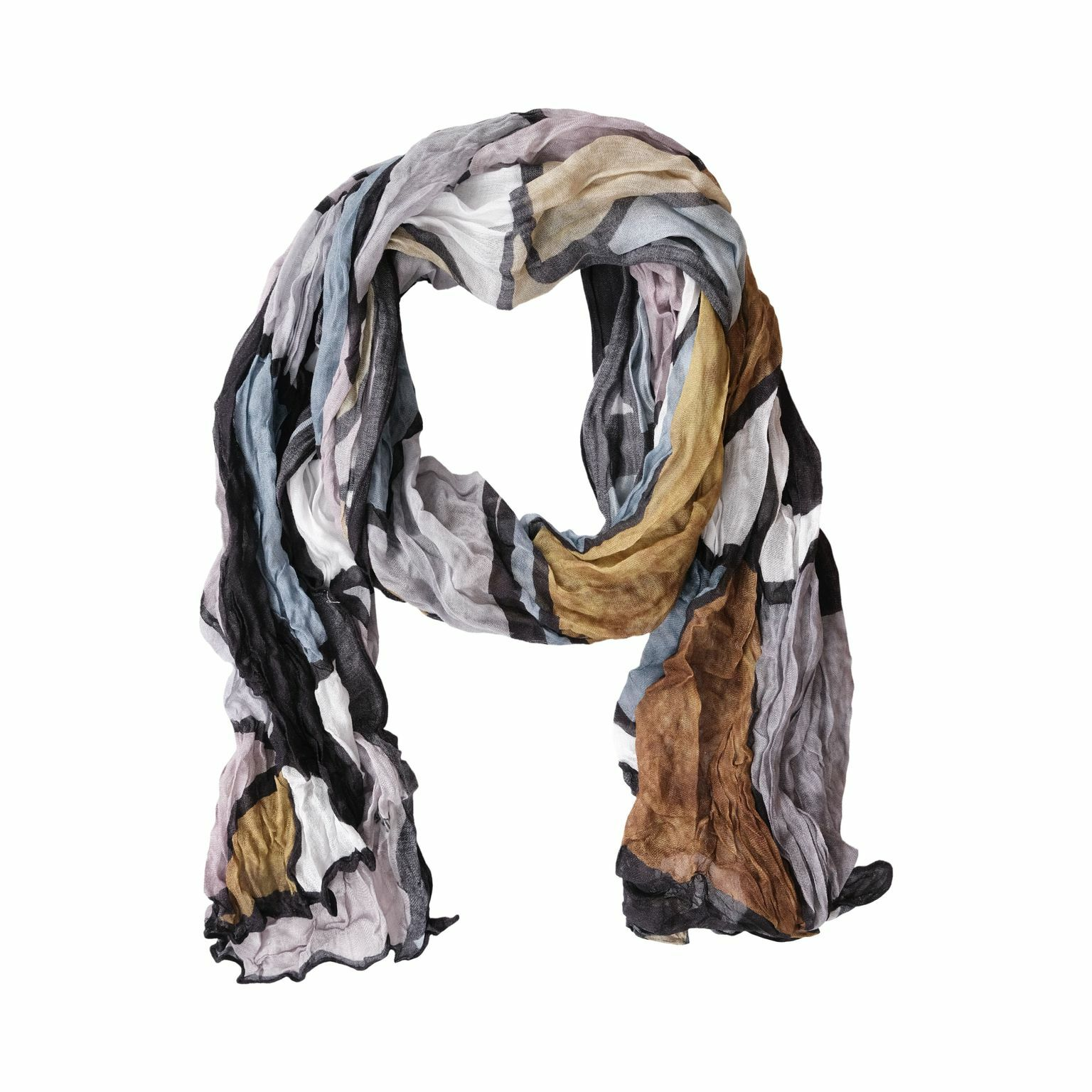 Simply Art Dolcezza: Lost In Time Abstract Art Scarf (1 Left!) DOLCEZZA_SIMPLYART_70907