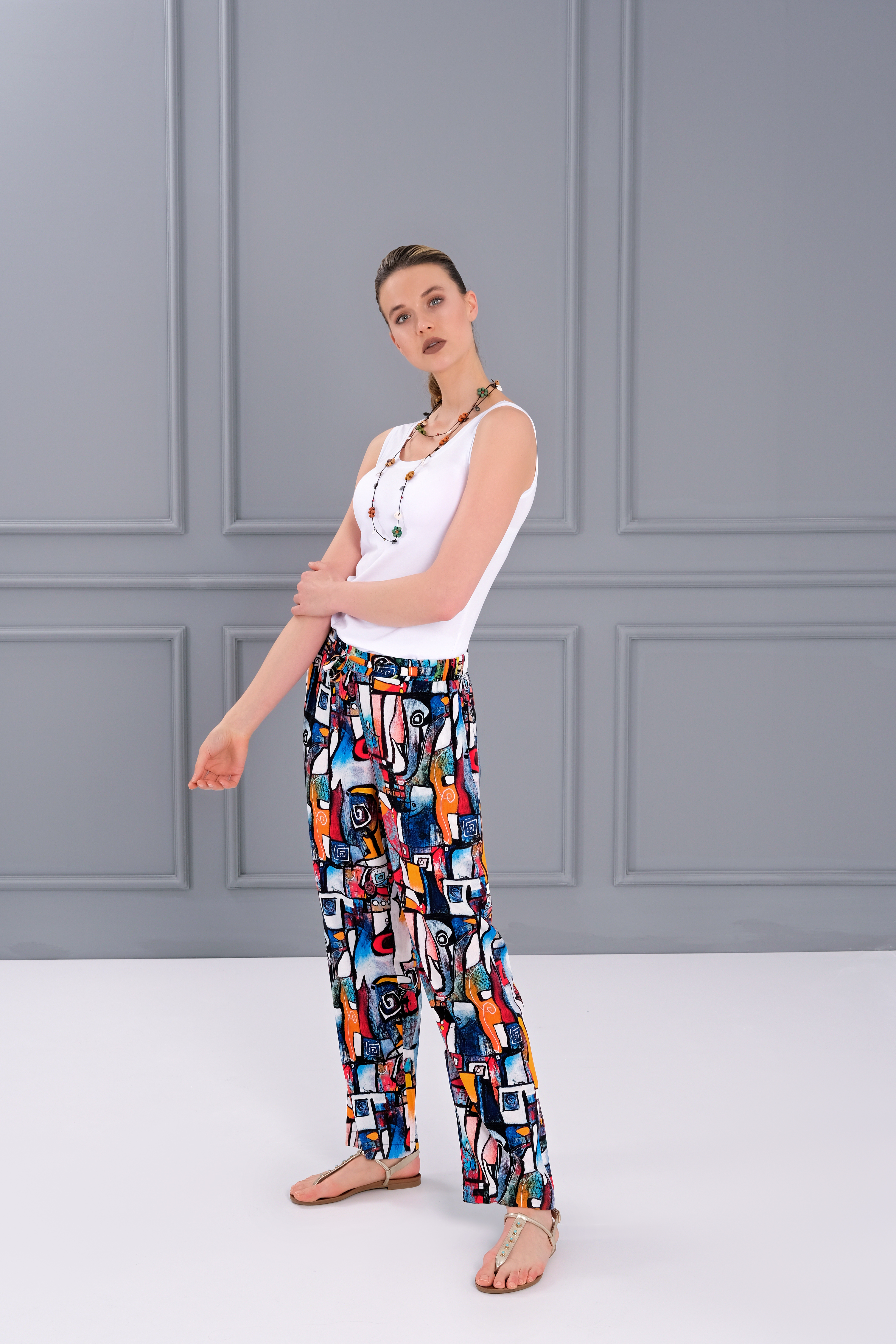Simply Art Dolcezza: It's Complicated Comfy Abstract Art Pants