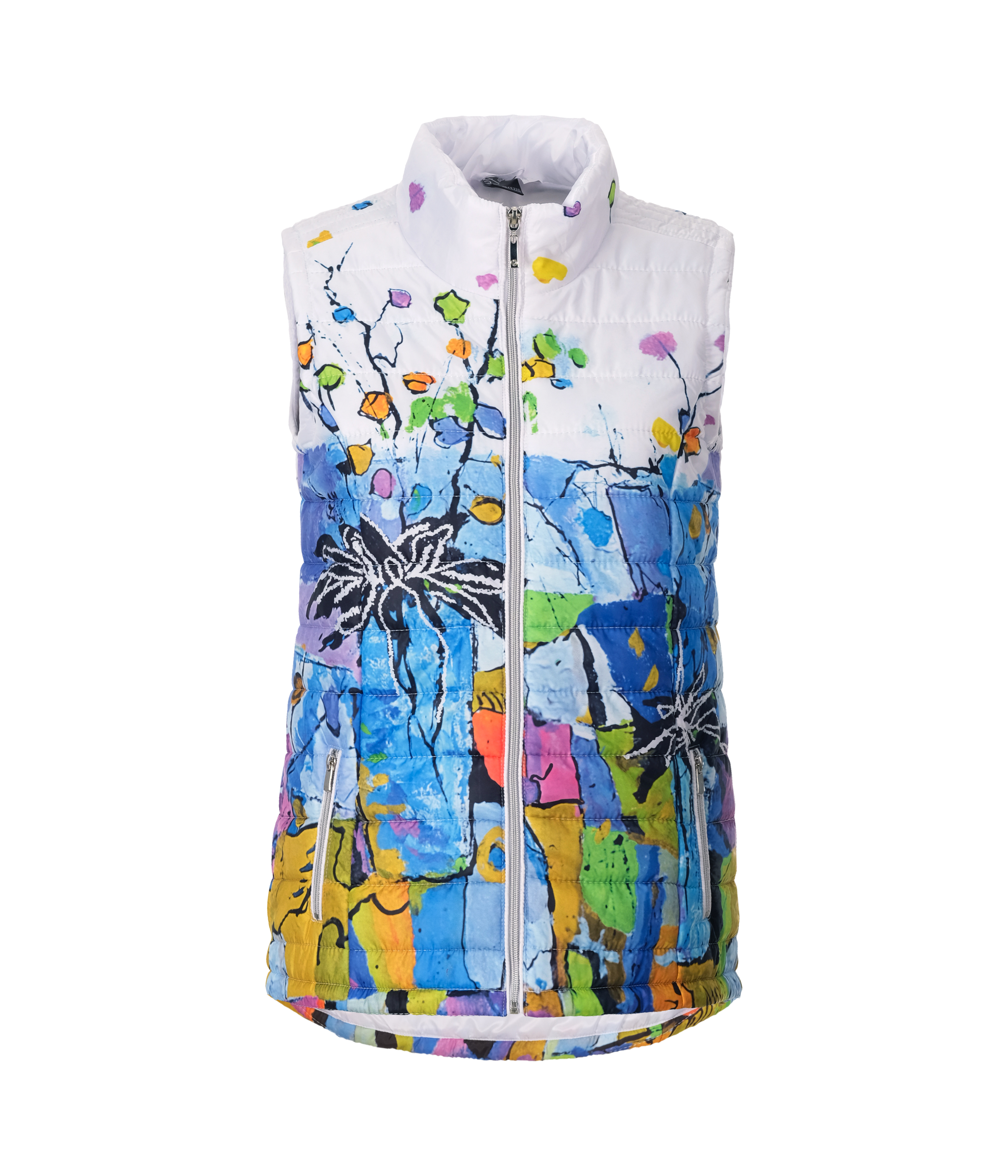 Simply Art Dolcezza: Still Life For A Wedding Party Puffer Art Vest (1 Left!) Dolcezza_SimplyArt_21801