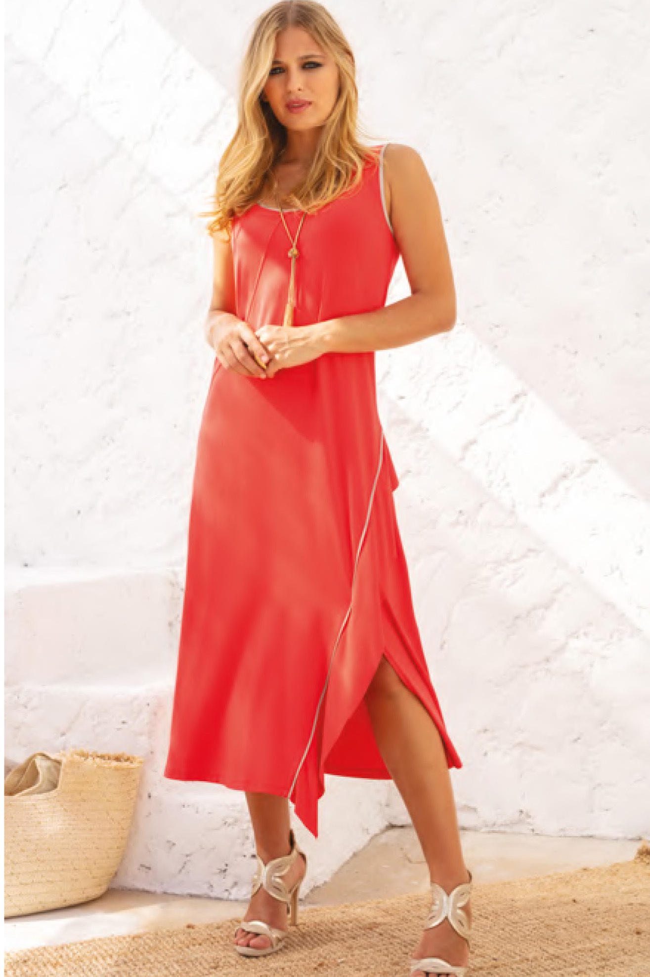 Maloka: Bewitchingly Comfortable Fringed Maxi Dress (Many Colors!)