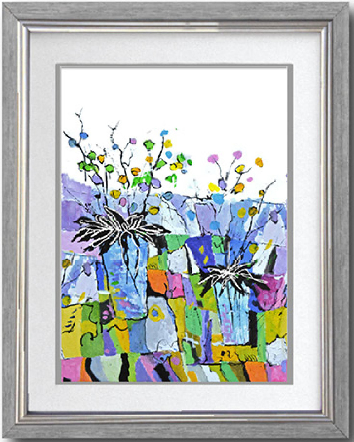 Simply Art Dolcezza: Still Life For A Wedding Party Buttoned Down Flared Art Blouse