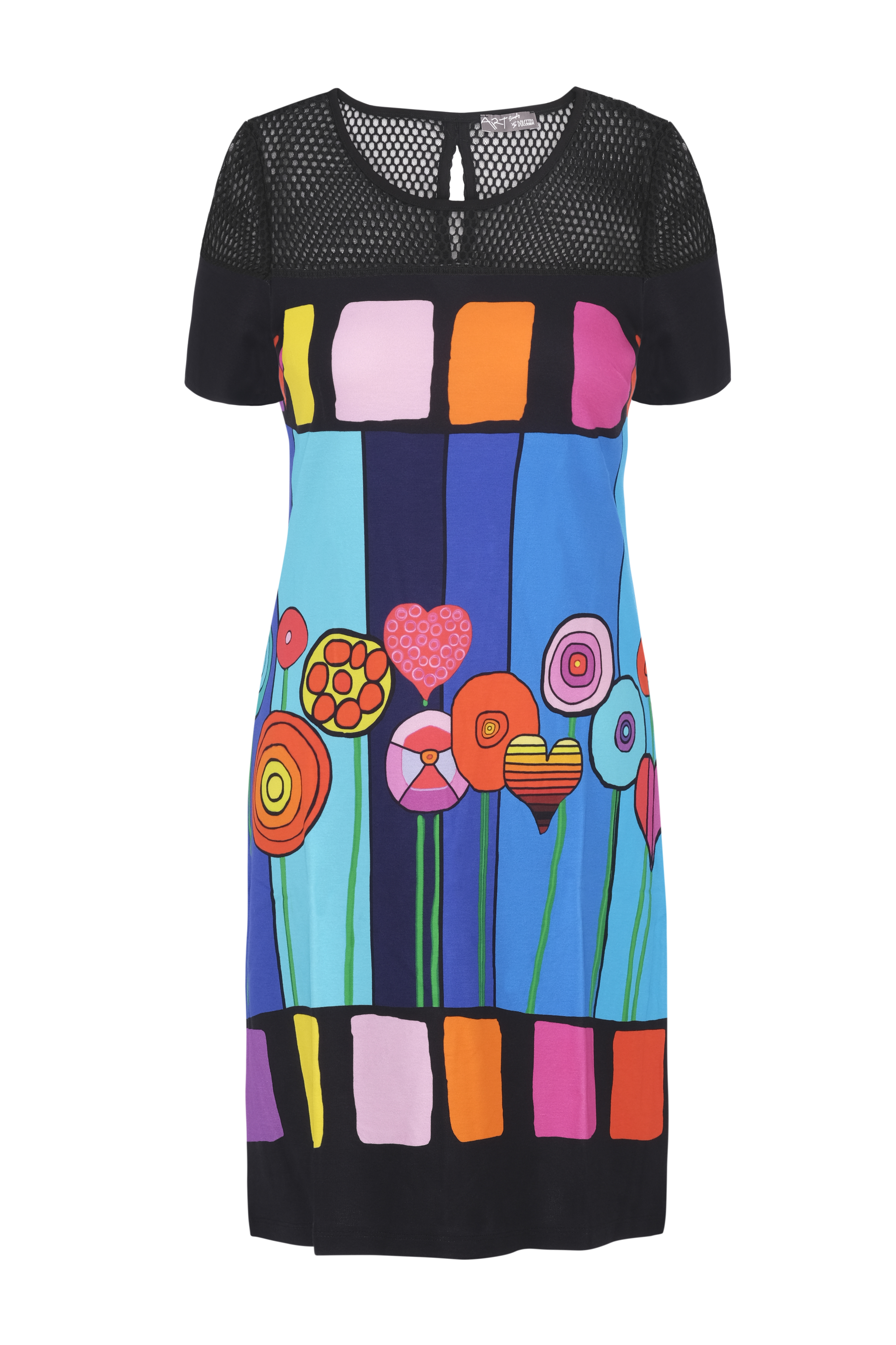 Simply Art Dolcezza: Lollipops Of Happiness Abstract Art Dress
