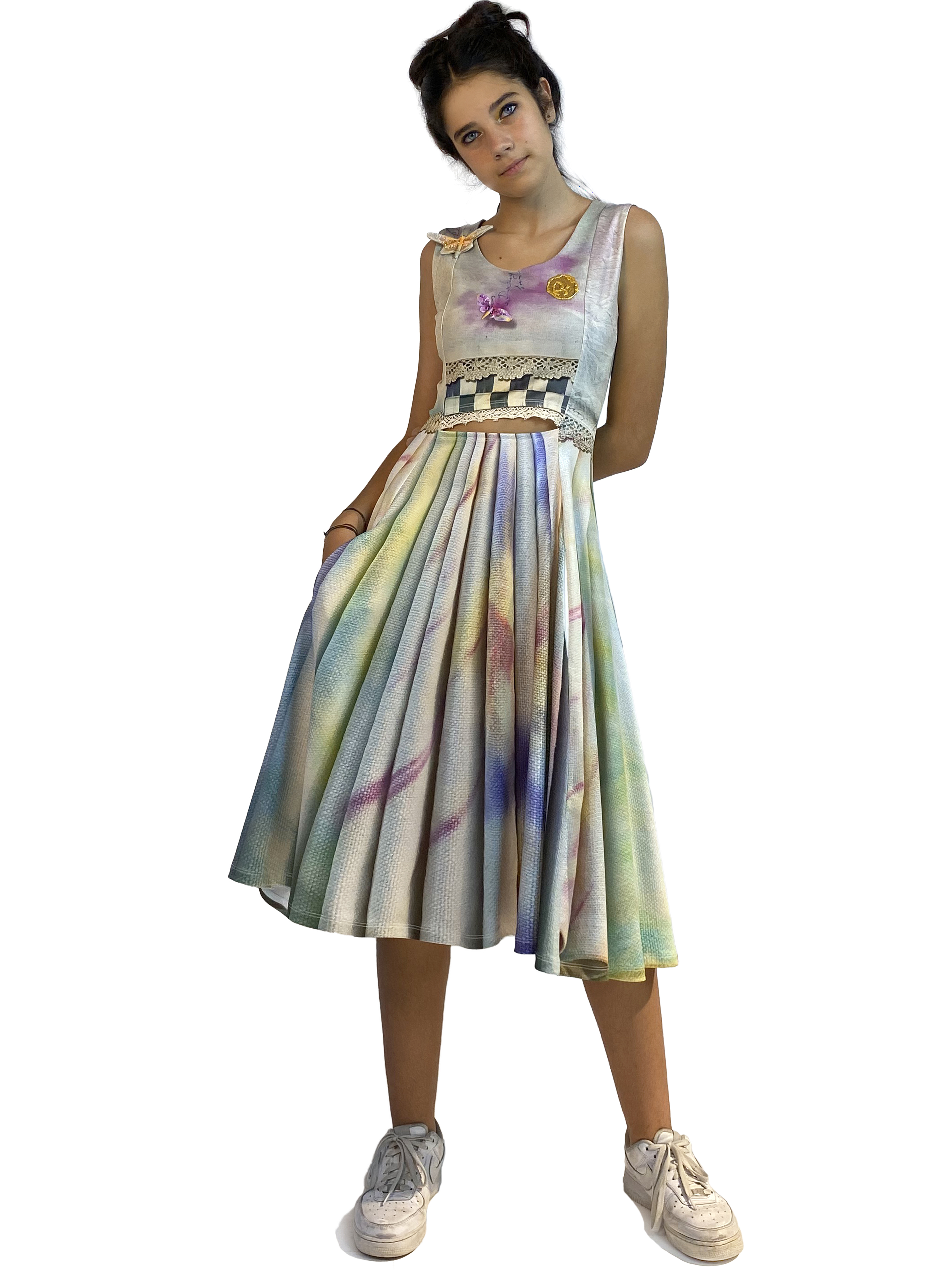 IPNG: Never Enough Color Orchid Illusion Cutout Dress (Some Ship Immed!) IPNG_NECDZ-026