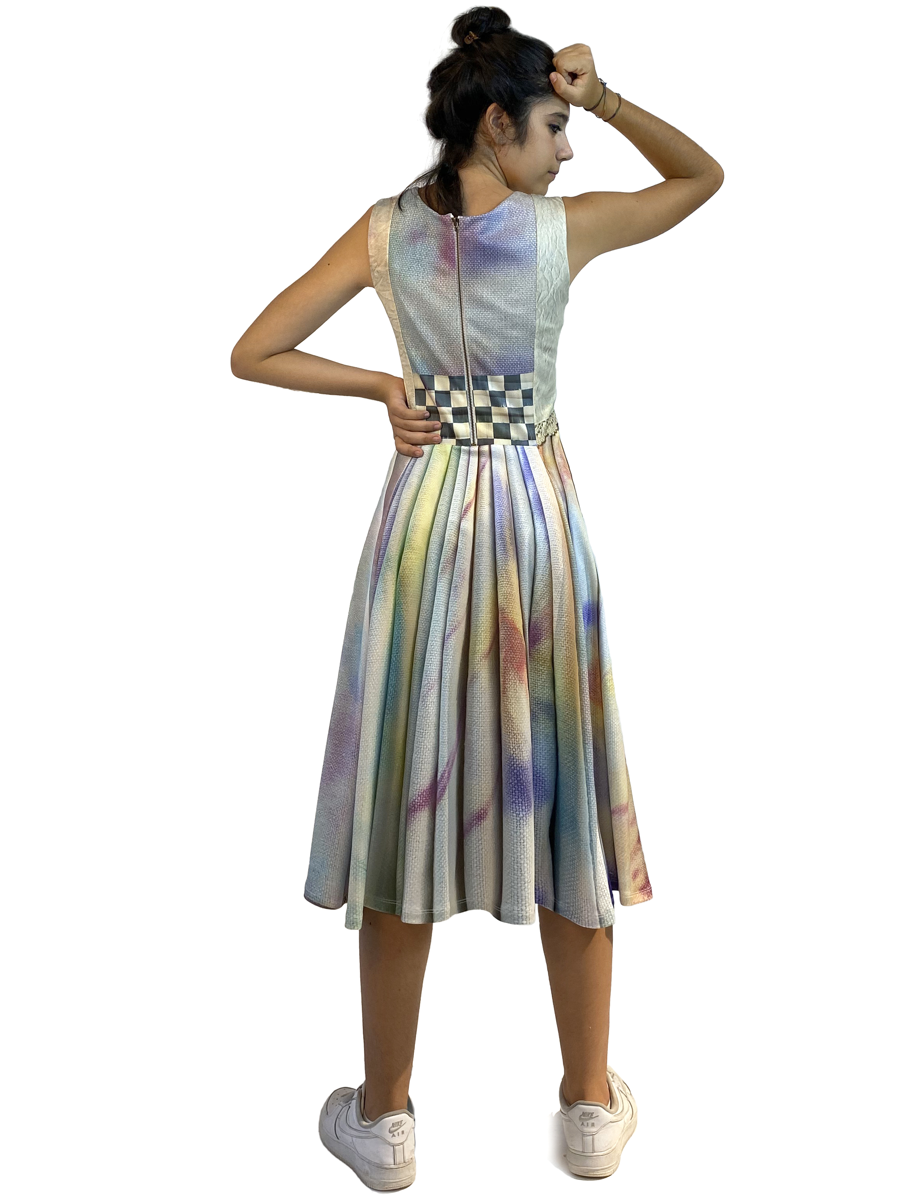 IPNG: Never Enough Color Orchid Illusion Cutout Dress (Some Ship Immed!)