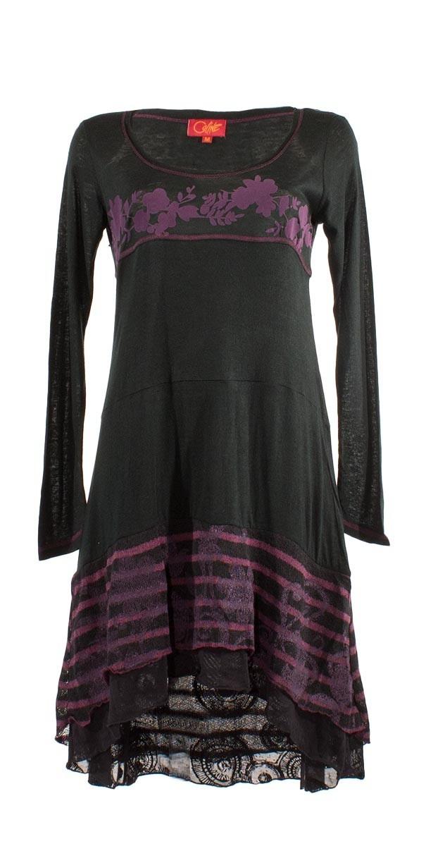 Coline USA: African Violeta Sweater Dress/Tunic (1 Left!) COLINE_RO14045