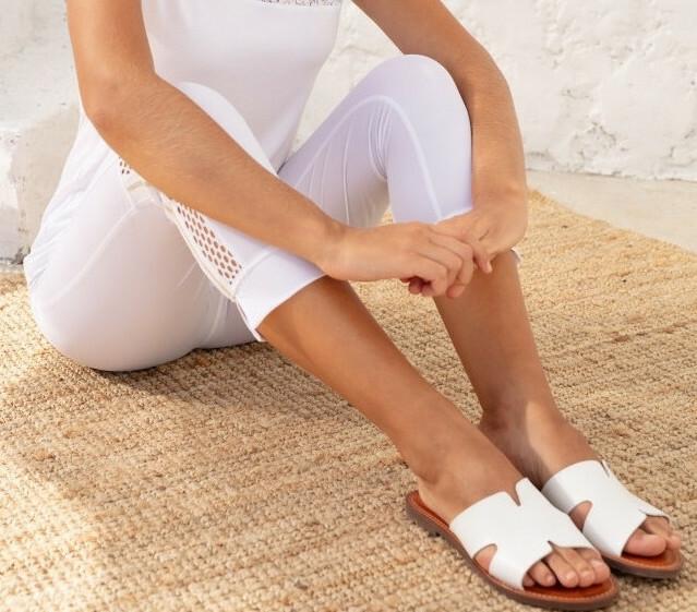 Maloka: Side Netted Comfy Cropped Legging (More Colors, Few Left!) MK_KAIRA