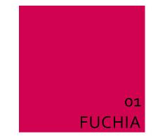 Maloka: Fuschia Brushed Cotton High Waisted Midi Dress