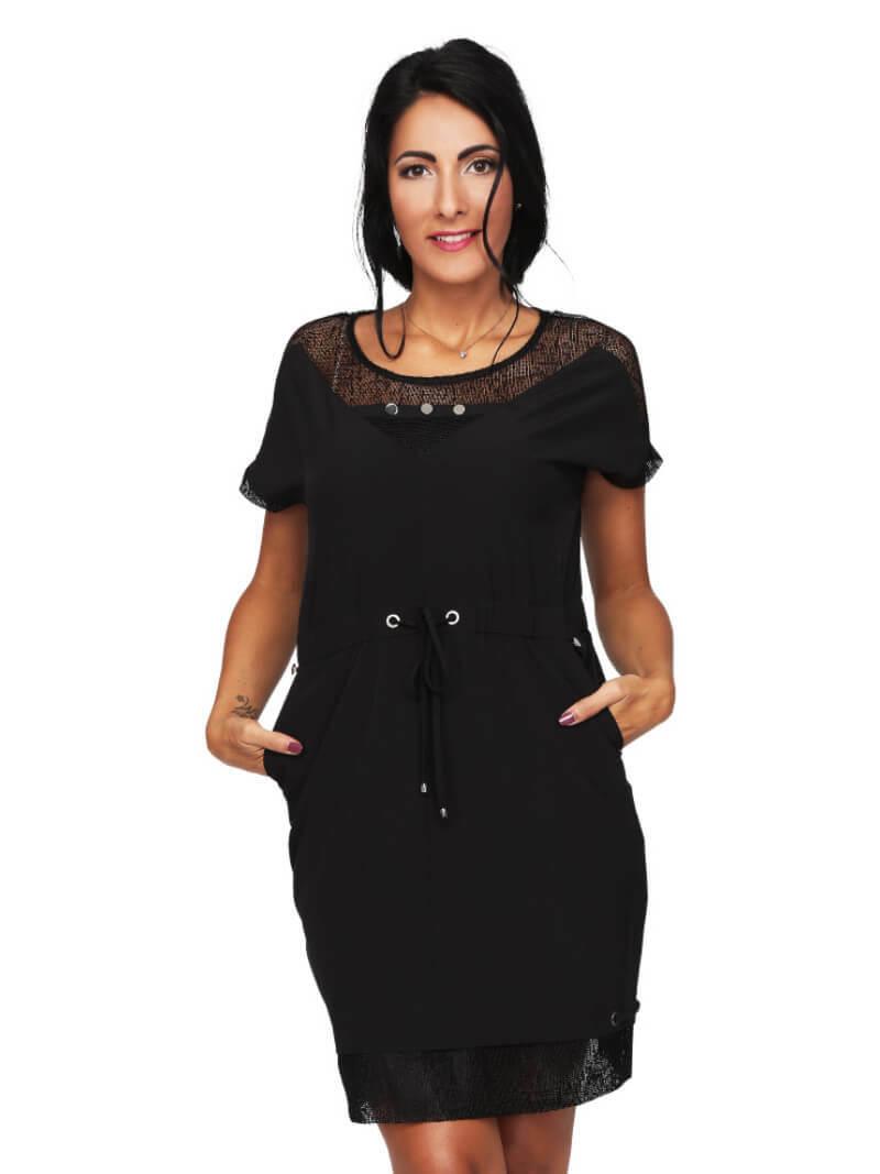S'Quise Paris: Flirty Waist Tie Pocket Dress SQ_2626