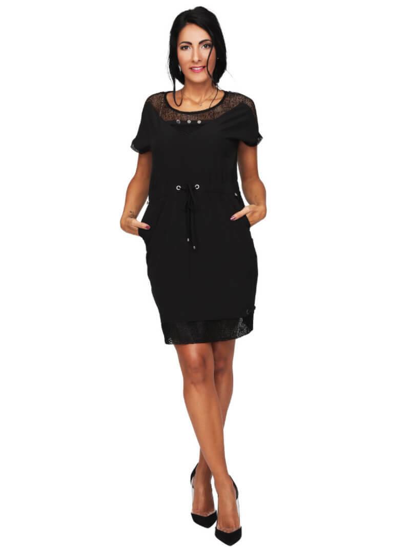 S'Quise Paris: Flirty Waist Tie Pocket Dress