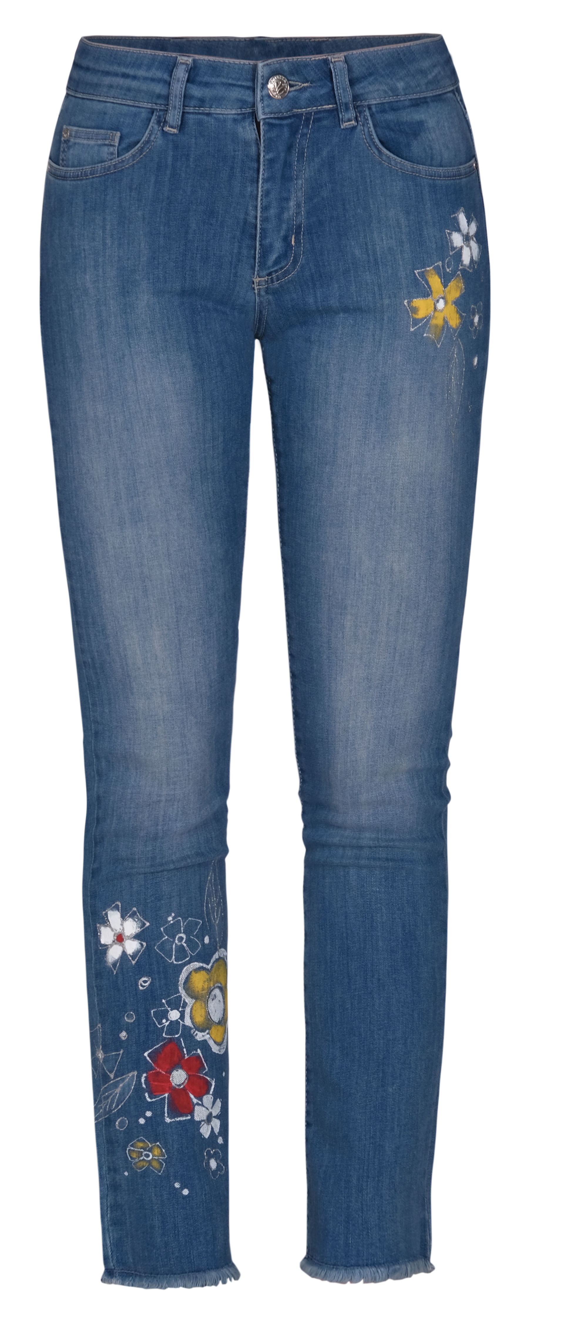 Dolcezza: My Flower Painted Flirty Jeans (2 Left!) Dolcezza_21300