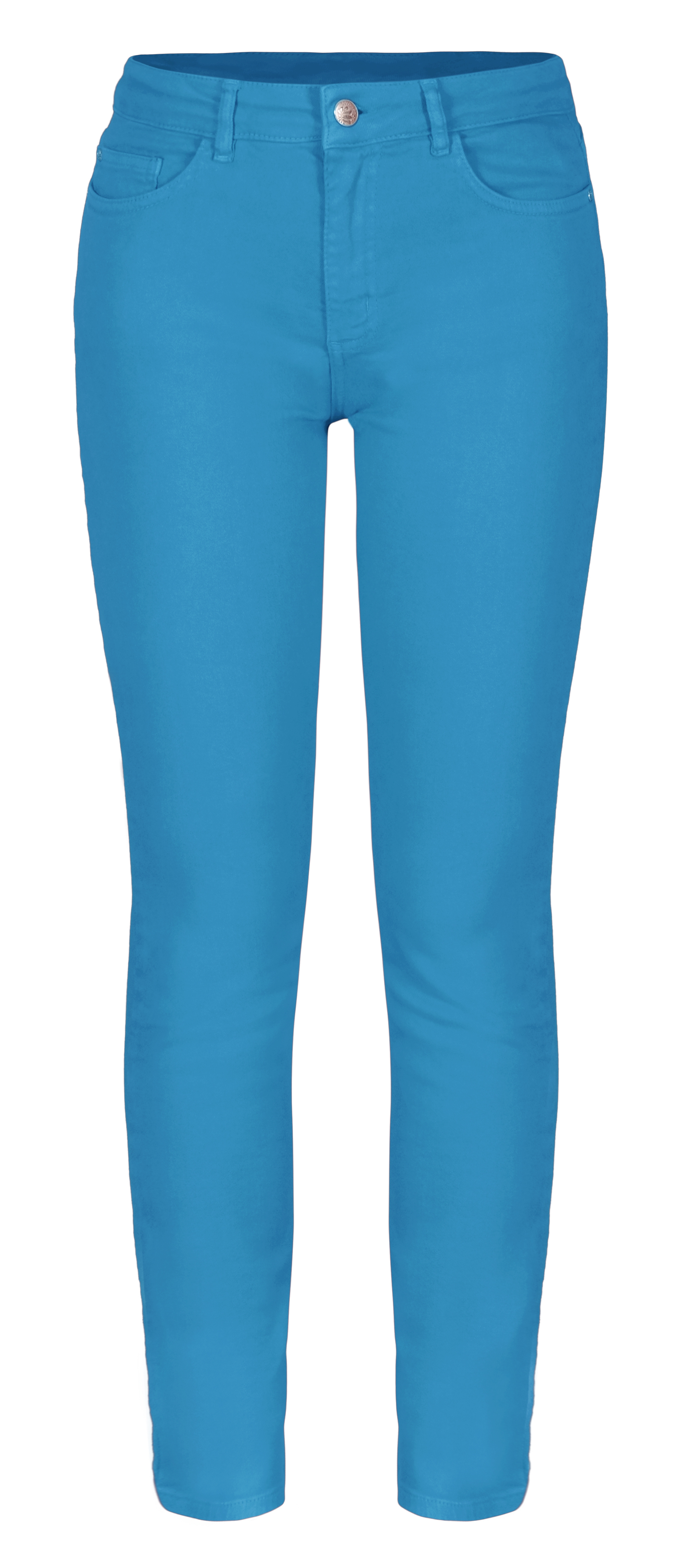 Dolcezza: Relax Me Turquoise Sea Cropped Jeans (1 Left!) Dolcezza_21201