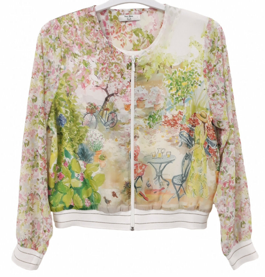Paul Brial: Spring Is In The Air Art Bomber Jacket