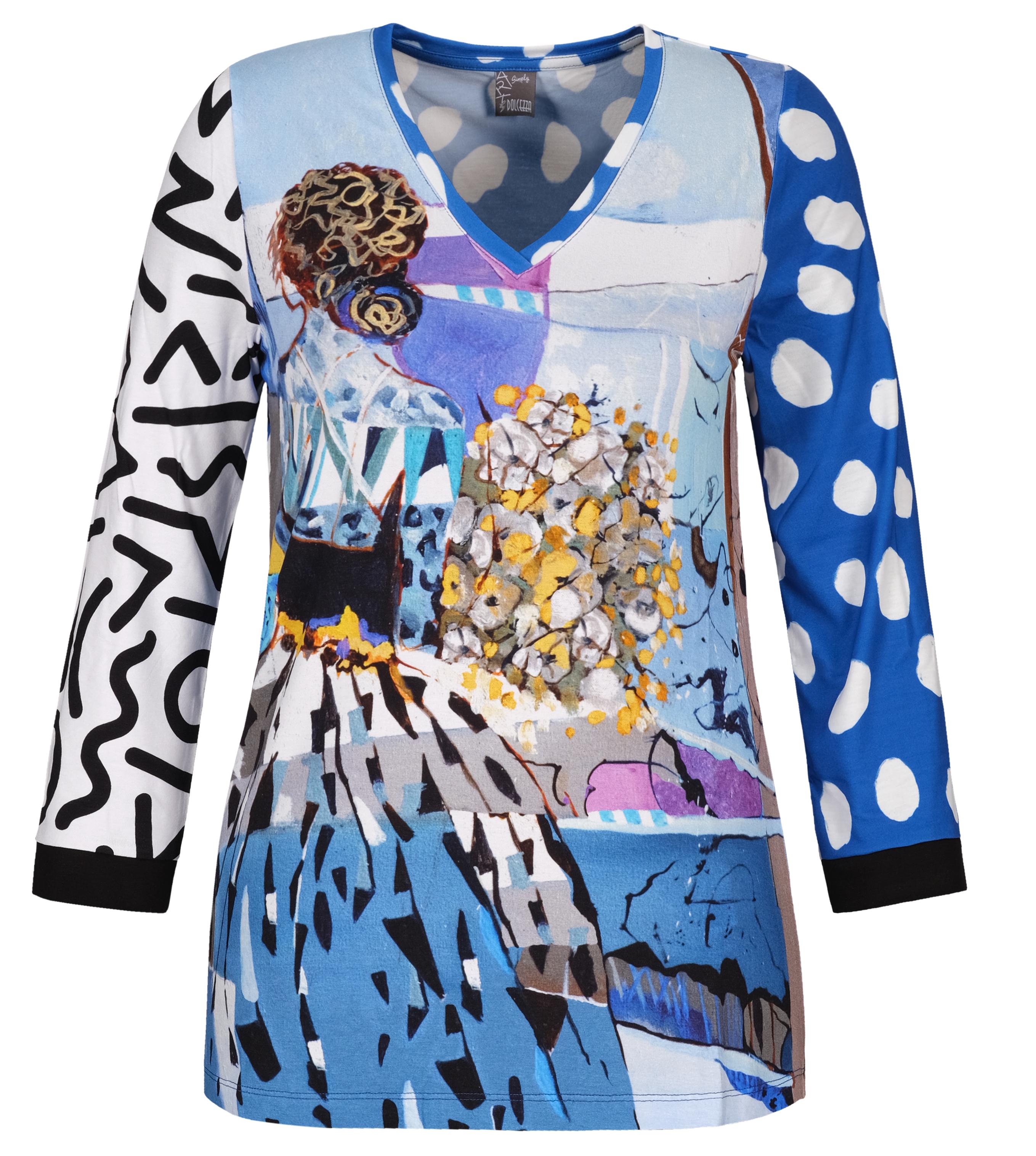 Simply Art Dolcezza: Princess Danae Abstract Art T-Shirt (Few Left!)
