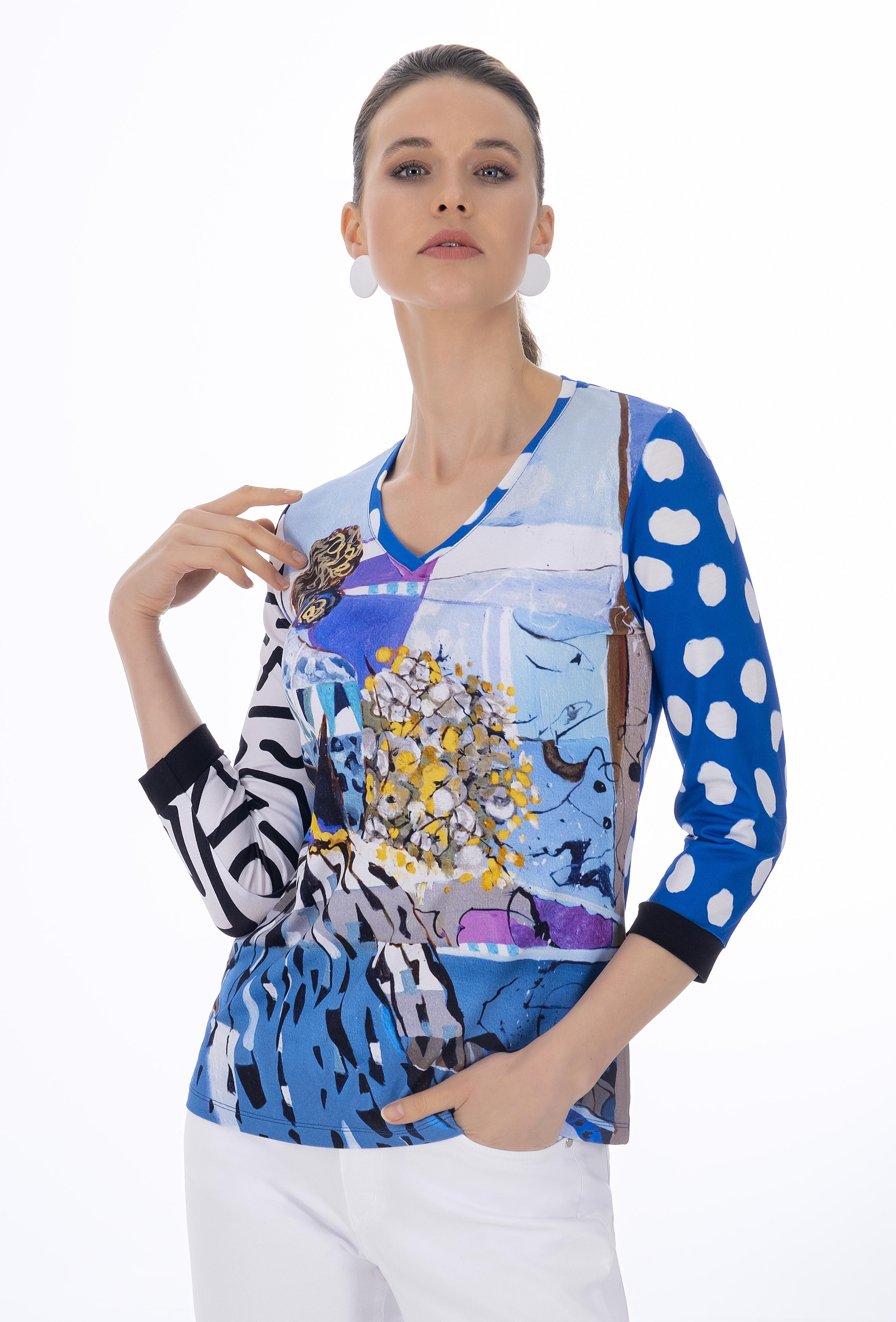 Simply Art Dolcezza: Princess Danae Abstract Art T-Shirt (Few Left!) Dolcezza_SimplyArt_21740