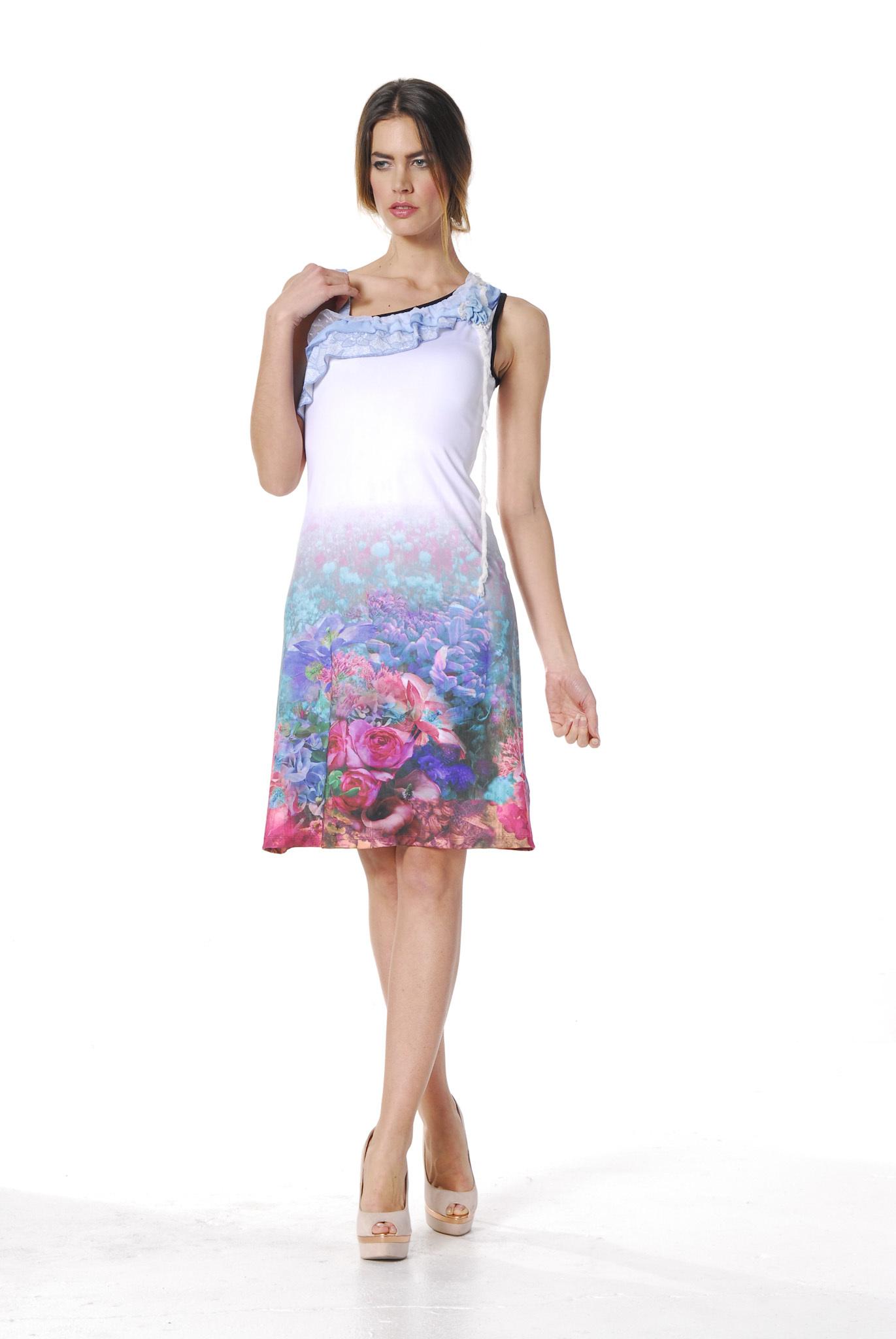 Les Fees Du Vent Couture: Fuschia Fairytale Sundress LFDV_888107_N2