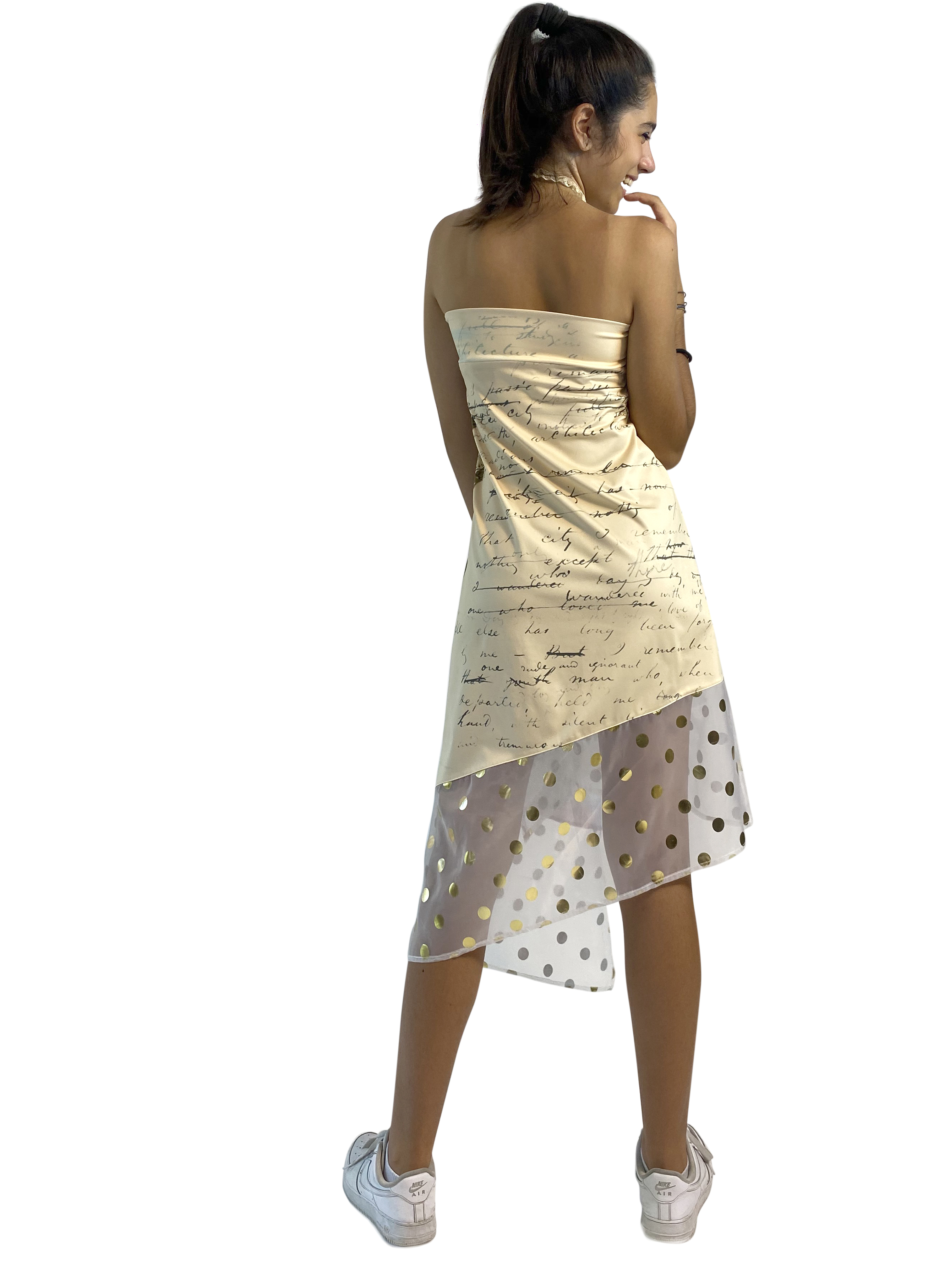 IPNG: If I Was Dancing In Paris Layered Tied Skirt/Dress
