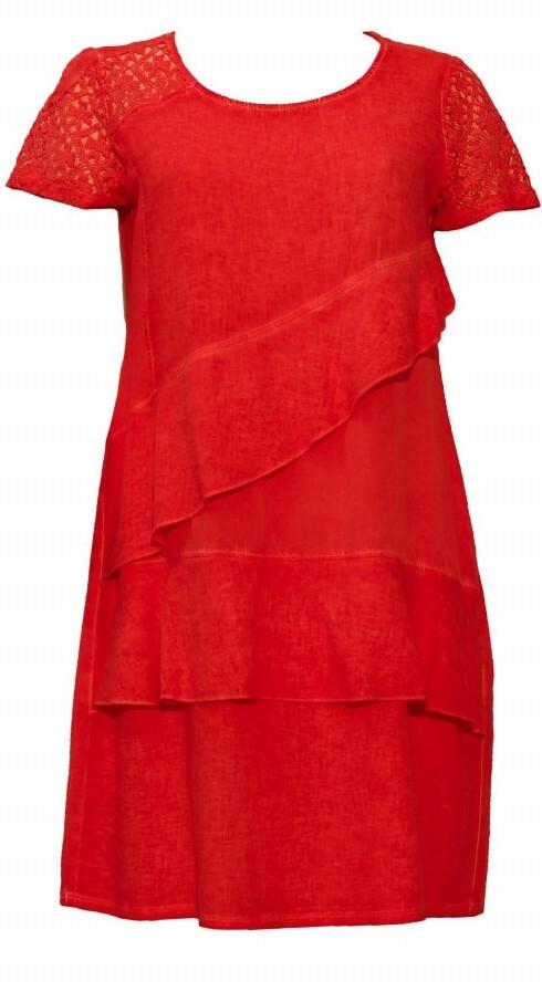 Maloka: Flirty Ruffles Linen Dress (More Colors!)