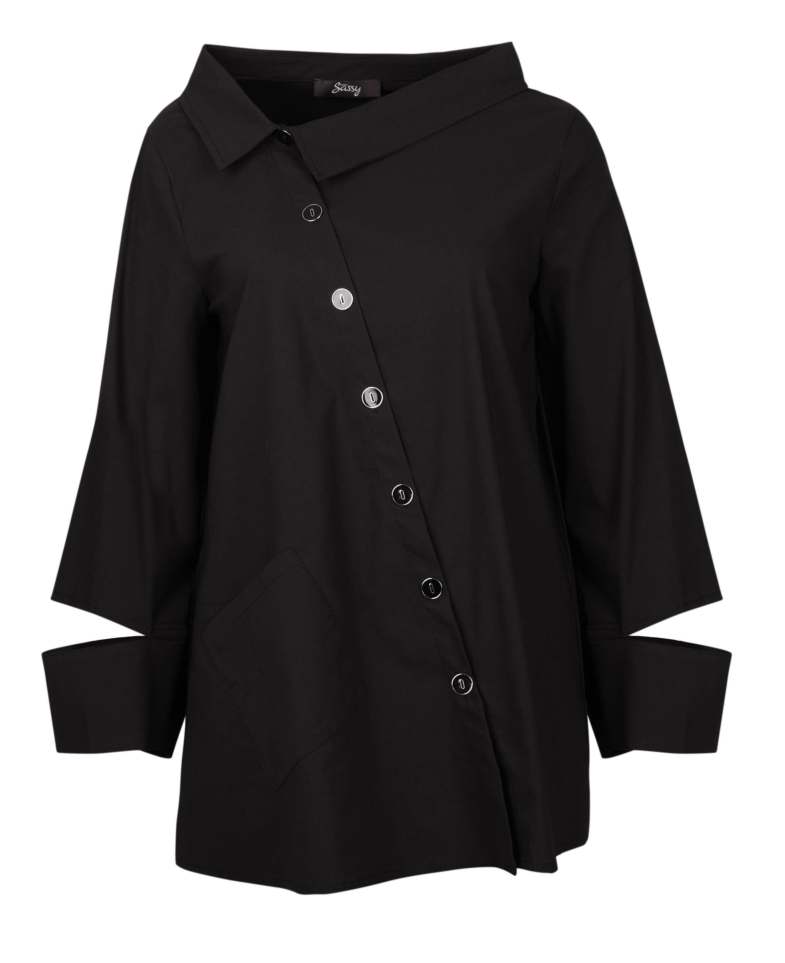 EverSassy: Asymmetrical Split Sleeve Tunic/Jacket EverSassy_61137