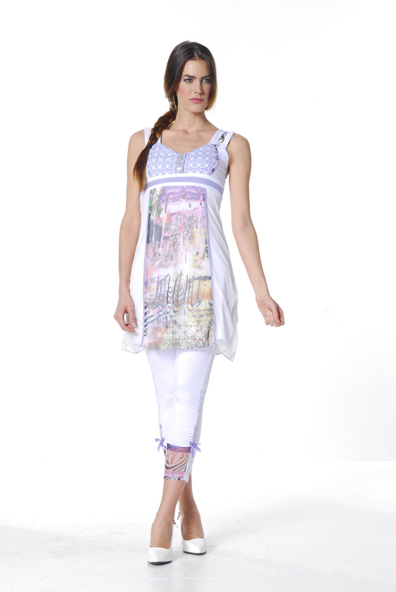 Les Fees Du Vent Couture: Radiant Pastel Princess Tunic (3 Left!) LFDV_887821