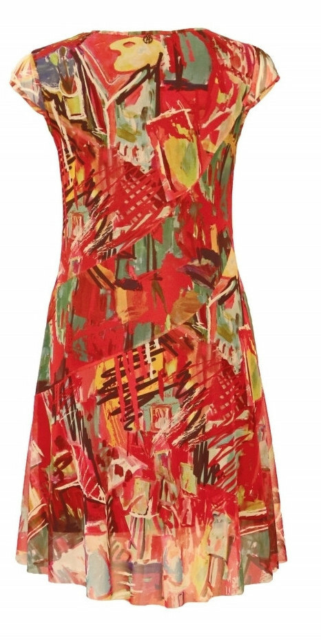 Maloka: Shimmering Colors Of MontMartre Fit & Flare Dress (More Colors!)