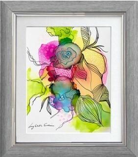 Simply Art Dolcezza: Full Of Vivacity Abstract Art Flared Sundress (1 Left!)