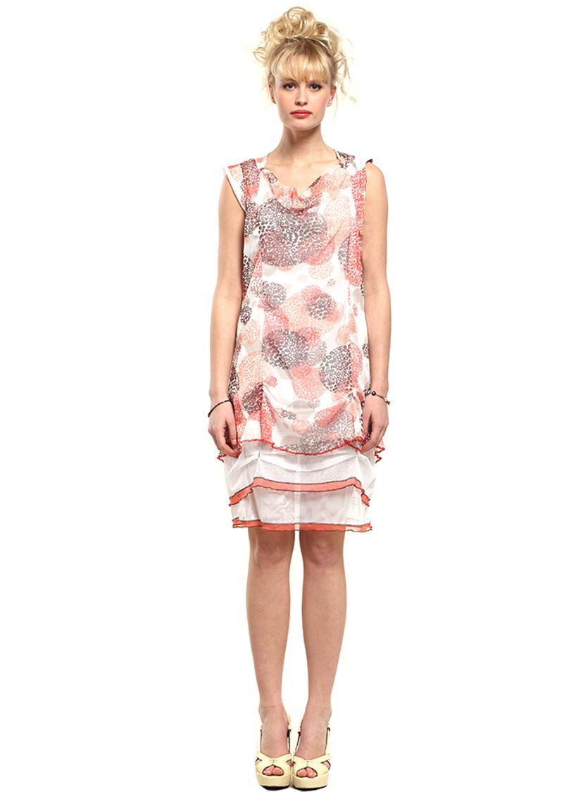 Double Jeu Paris: Sexy Sea Shells Dress SOLD OUT DJ_ROBE_ROXANE_CORAIL