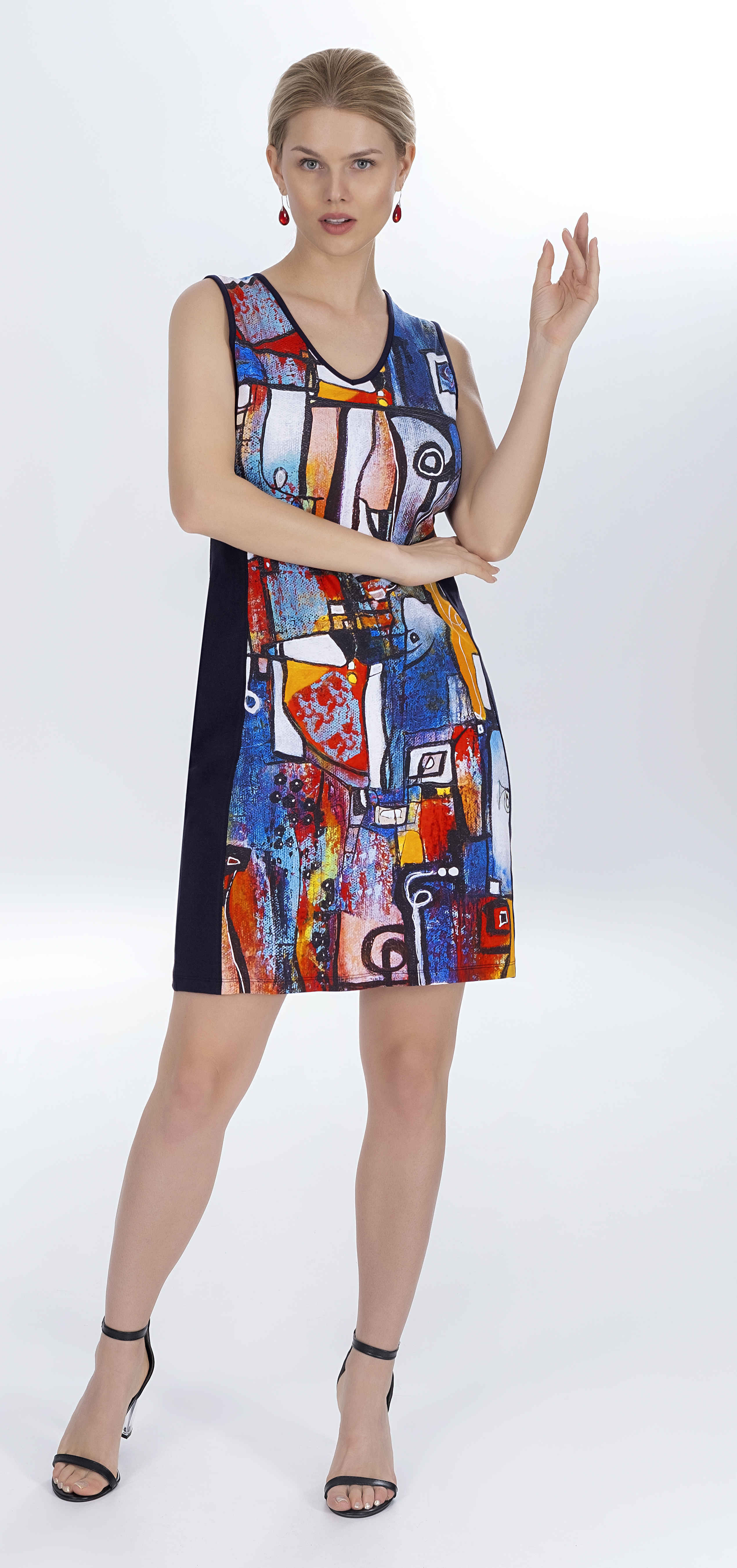 Simply Art Dolcezza: It's Complicated Crazy Cool Contrast Art Dress/Tunic (1 Left!)