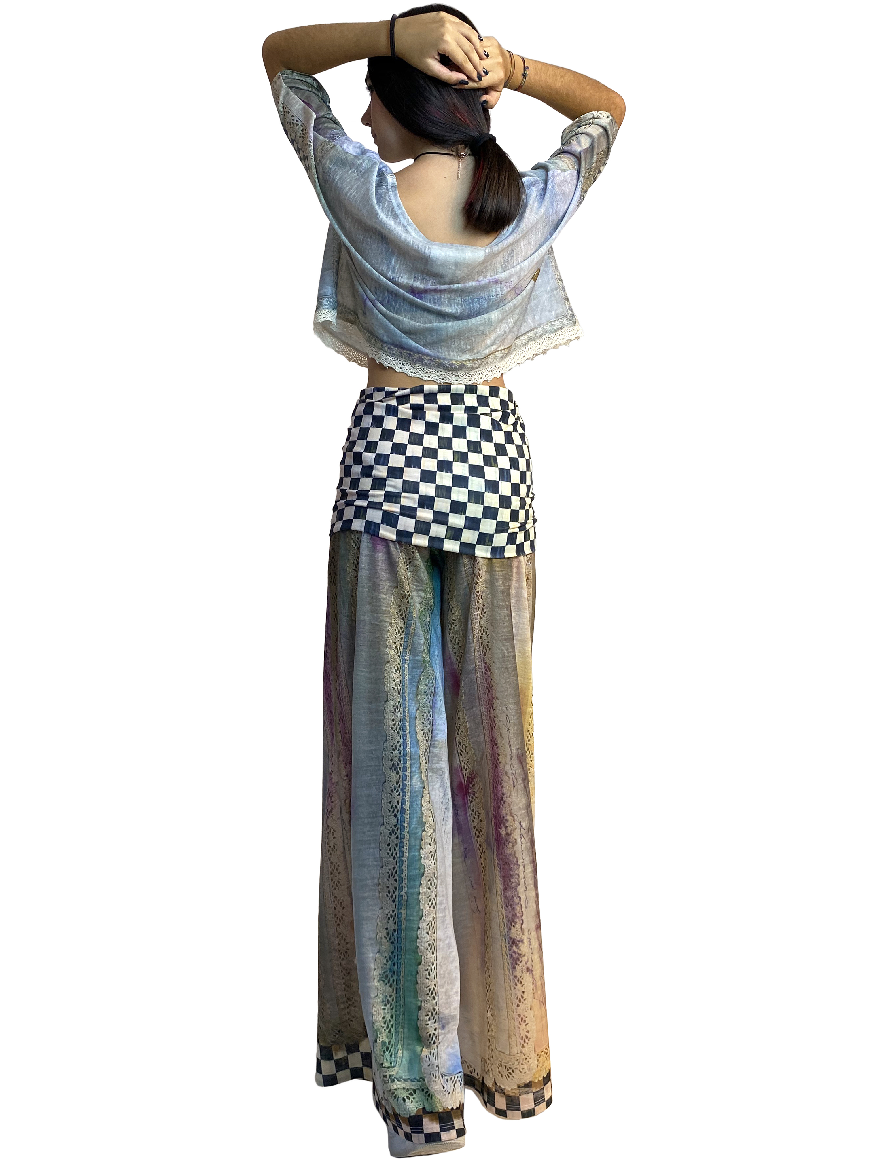 IPNG: Never Enough Color Orchid Illusion Comfort Drape Pants (Converts to Jumpsuit!) Ships Immed, 1 Left!