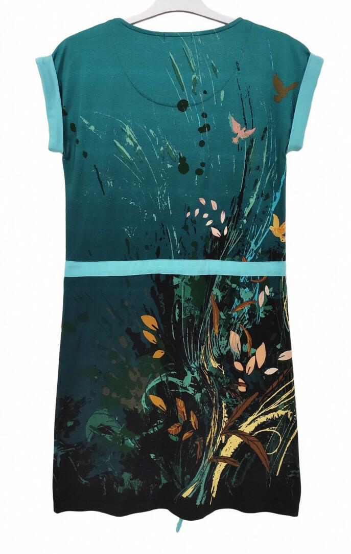 Paul Brial: Underwater Flight Tied Waist Tunic