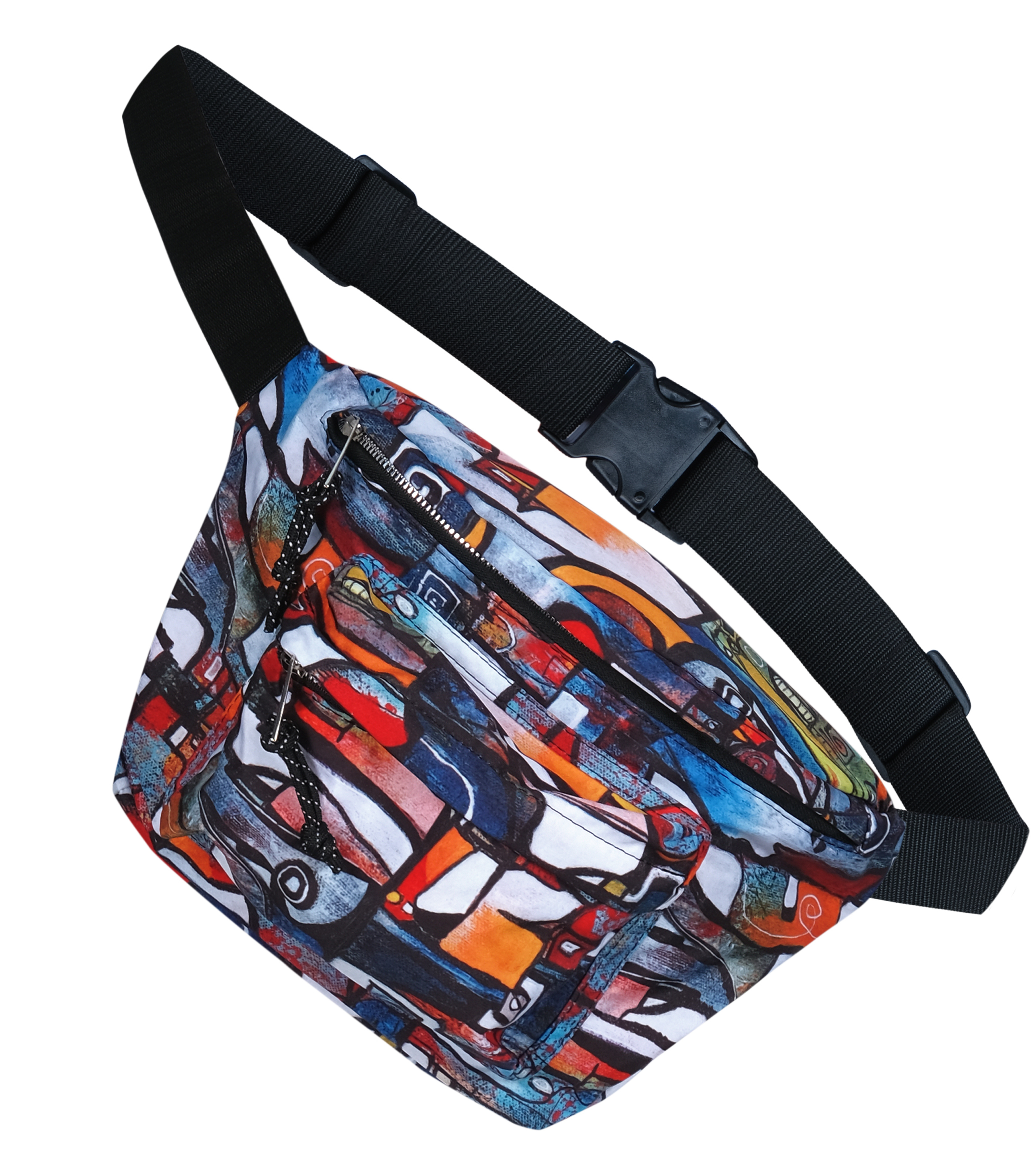 Simply Art Dolcezza: It's Complicated Crazy Cool Abstract Art Belt Bag Dolcezza_Simplyart_21971