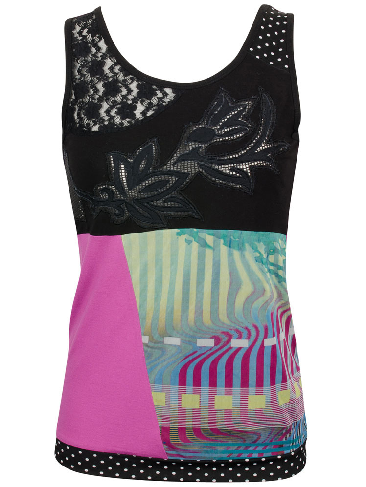 Les Fees Du Vent Couture: Midnight Orchid Top LFDV_888001_N