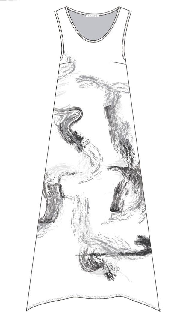 Maloka: Sparkle Crinkled Asymmetrical Maxi dress