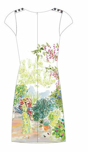 Paul Brial: Spring Is In The Air Art Dress/Tunic