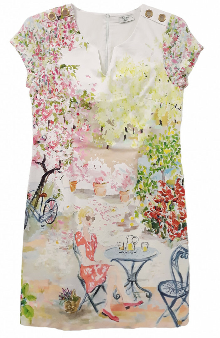Paul Brial: Spring Is In The Air Art Dress/Tunic PB_JONQUILLE