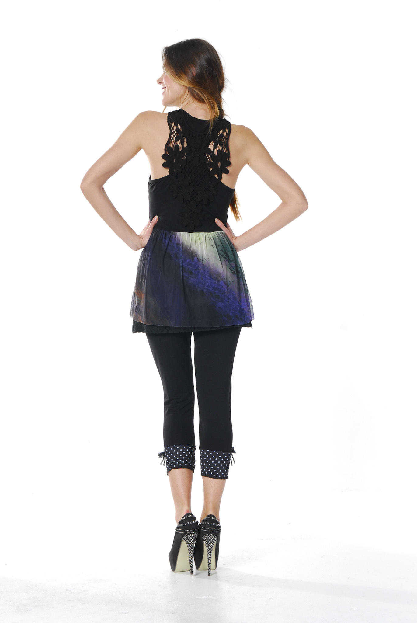 Les Fees Du Vent Couture: Bow Tie & Button Legging LFDV_888019