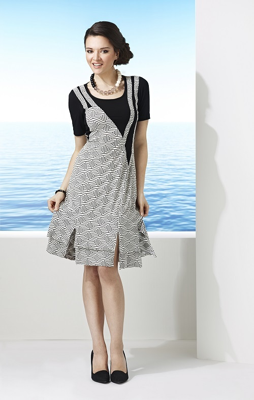 Dzhavael Couture: Zig Zag Dress DZ_50051