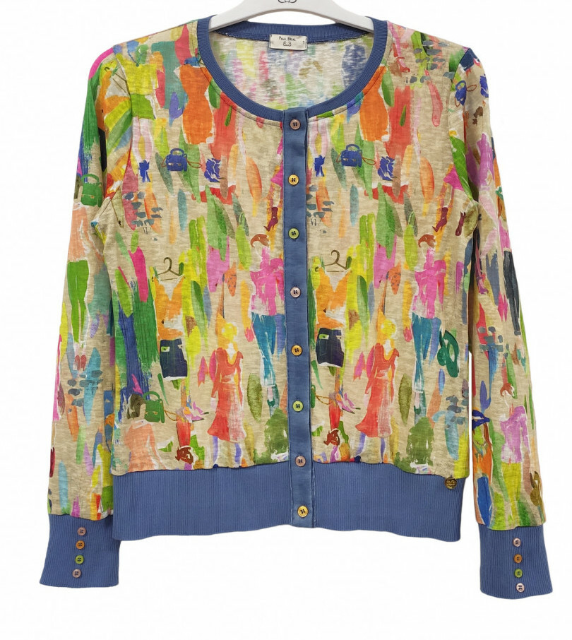 Paul Brial: Can you see the Women In Neon Color Block Cardigan (1 Left!) PB_ATHENE_cardigan