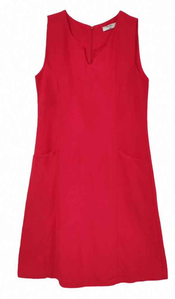 Paul Brial: Little Red Flared Pocket Dress (More Colors!)