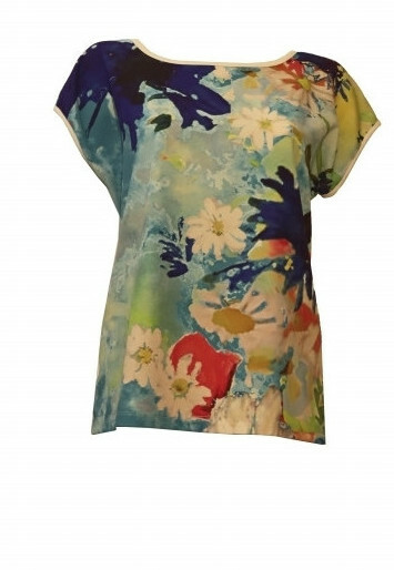 Maloka: Beauty Blooms Abstract Art T-shirt