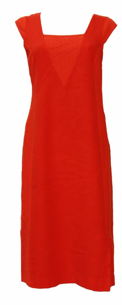 Maloka: Floral Square Neck Midi Linen Dress (More Colors!)